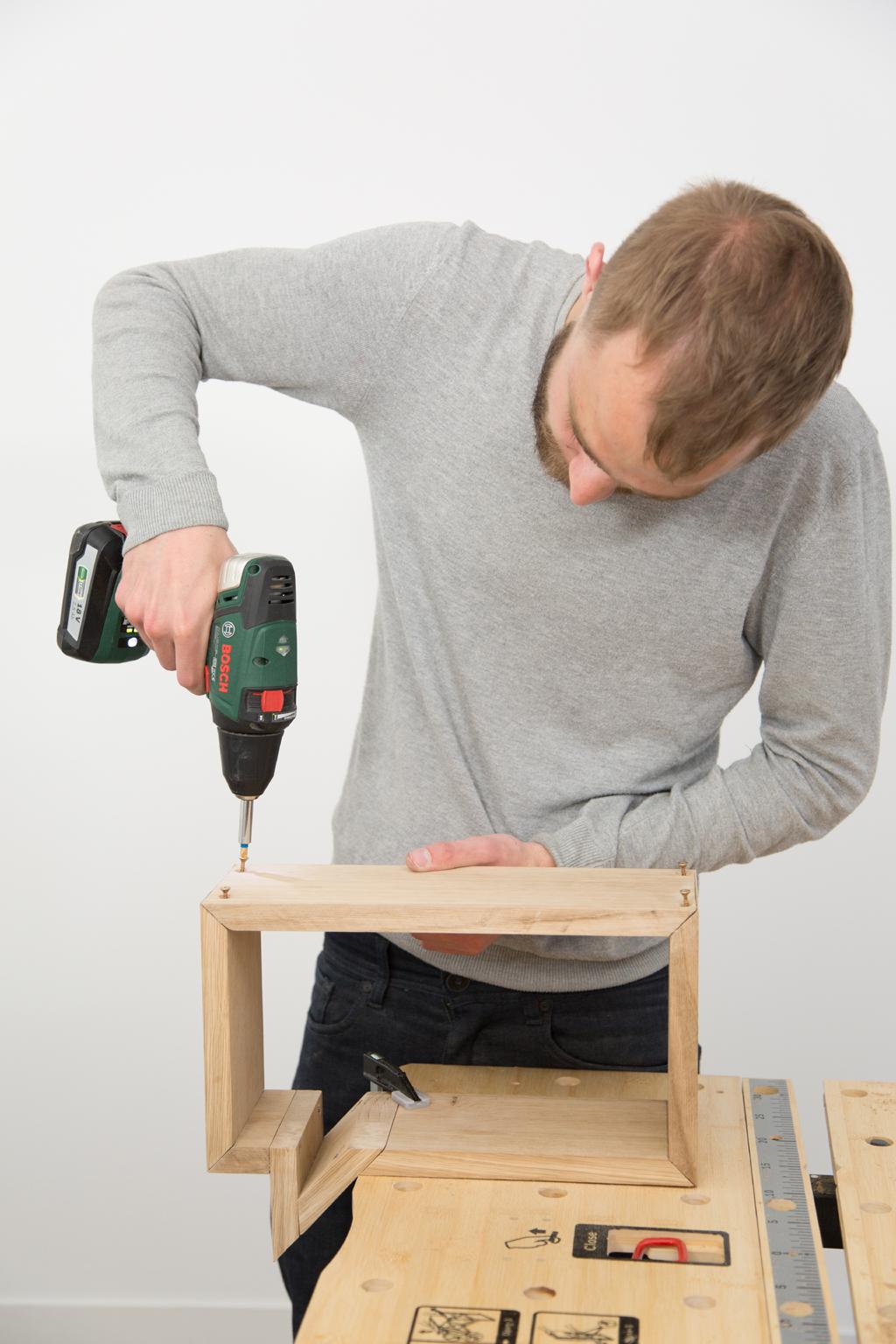 Fabriquer une etagere Bulle