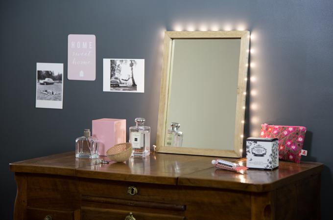 Faire un miroir lumineux Glossy