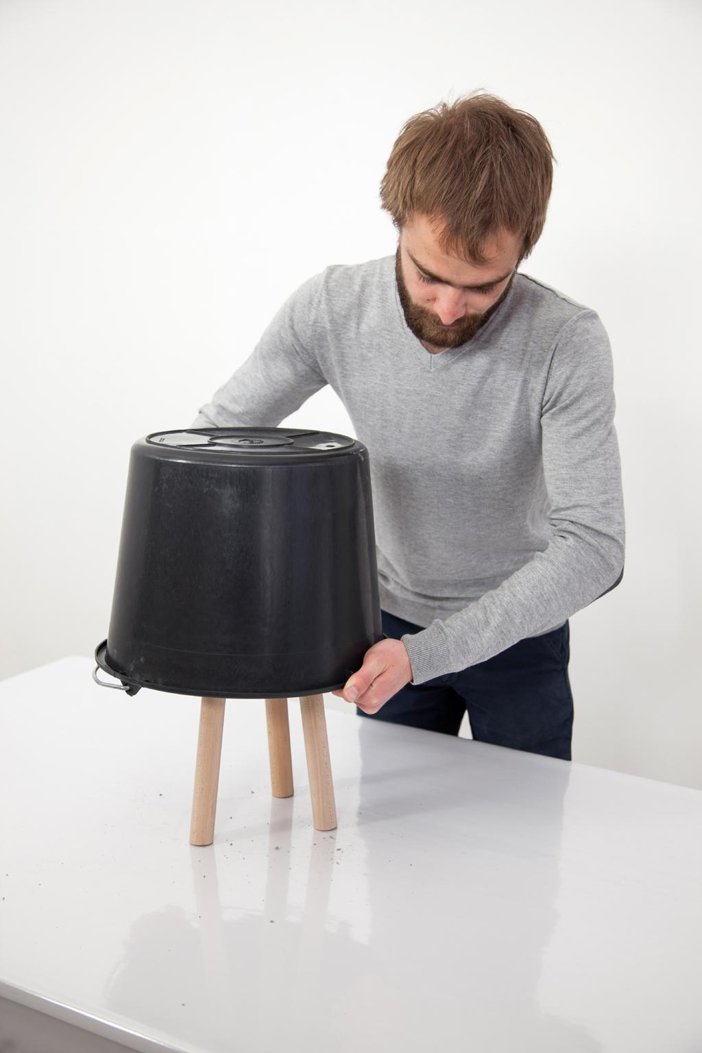 Fabriquer un tabouret Tripode