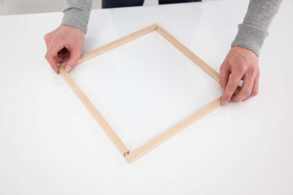 Realiser une suspension Cube