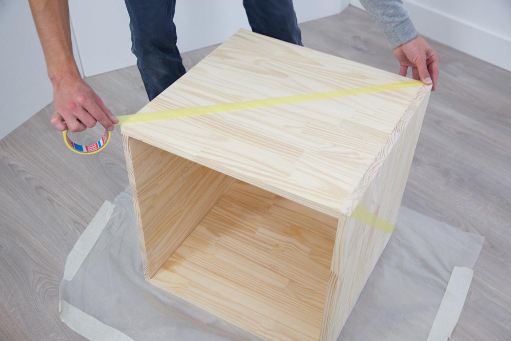 Fabriquer un coffre Kube