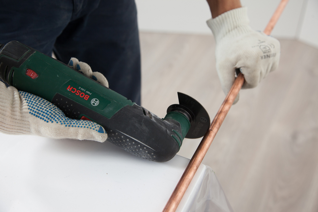 Fabriquer un portant a vetements Copper