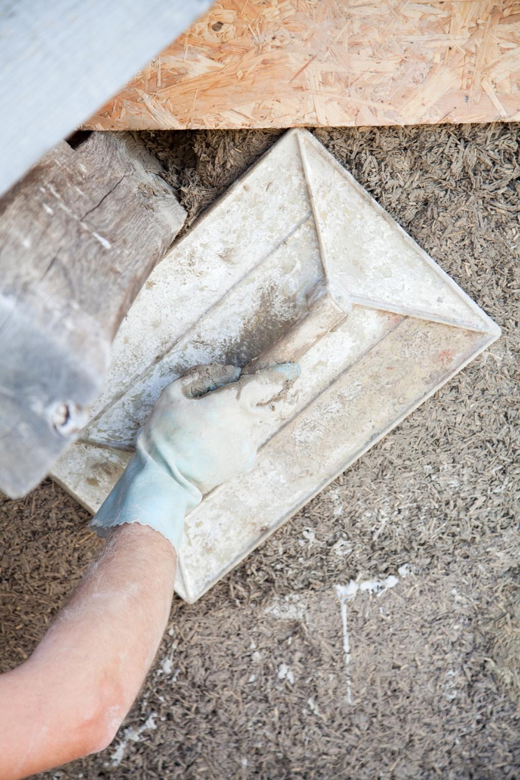 Isoler une facade avec du beton de chanvre