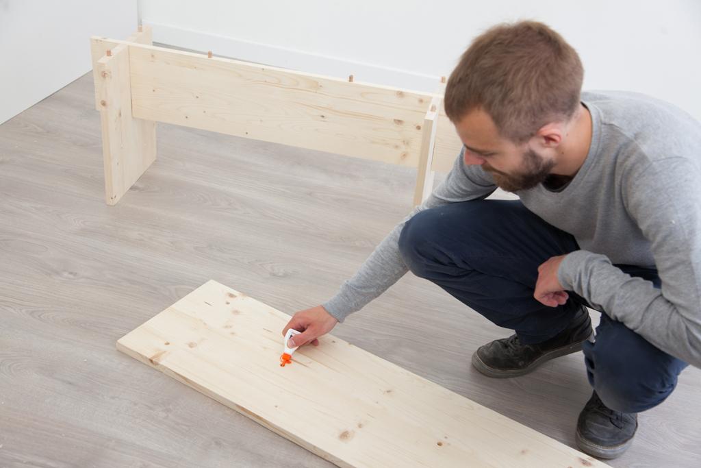 Fabriquer un banc Kit pour son entree