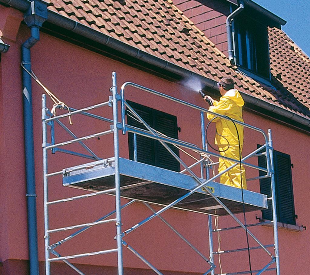 Nettoyer une façade