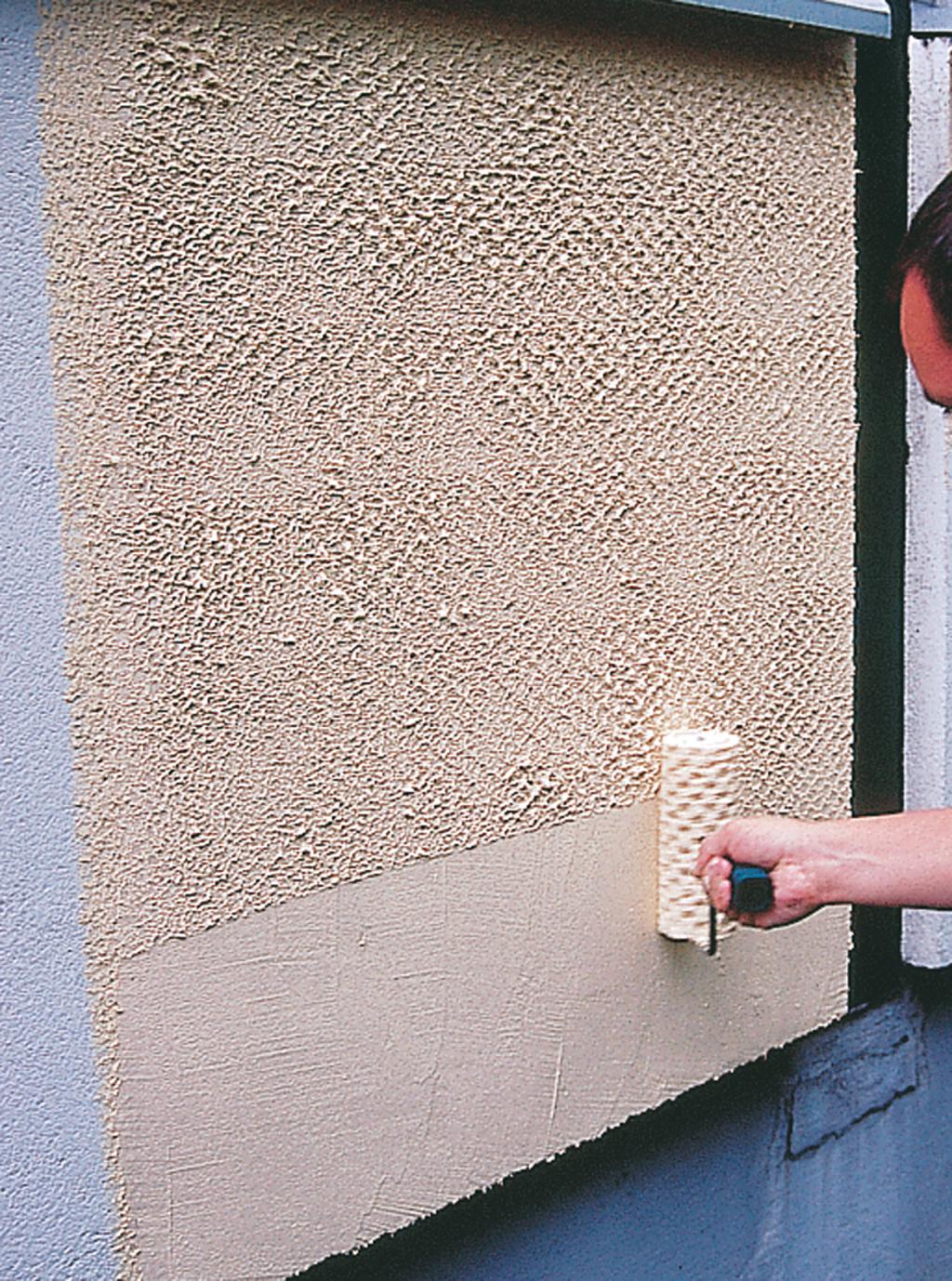 Appliquer du crépi sur une façade