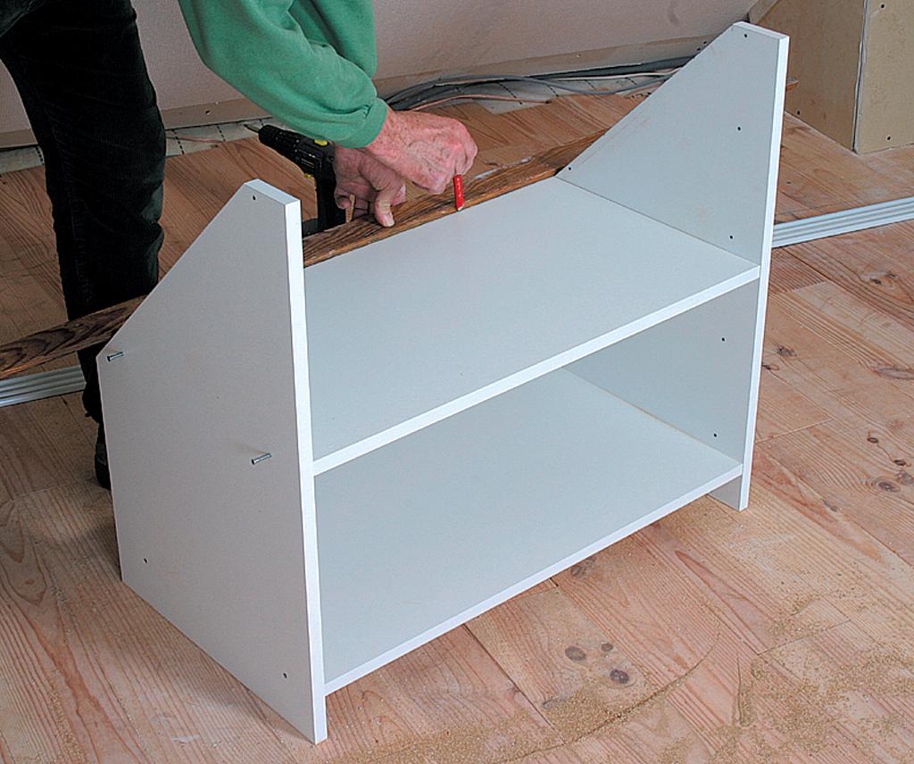 Créer un placard dans un grenier