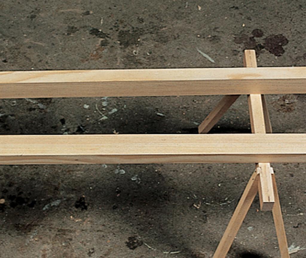 Construire une échelle de meunier
