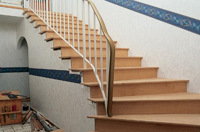 Changer l'habillage d'un escalier existant