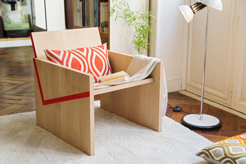 Fabriquer un fauteuil Red Line